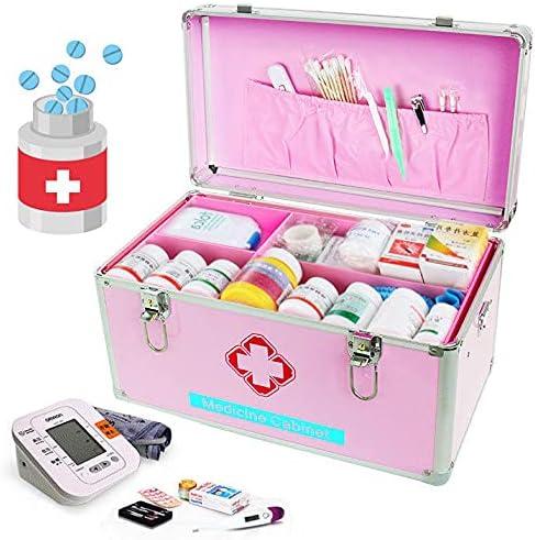 DDHVVOH Medical Lock Box Storage Empty Gorgeous Medicine Durable security