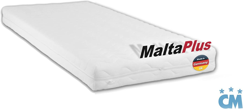 Charlottes Mbelkaufhaus Kindermatratze 120x200 cm Malta Plus. Hochwertige Kaltschaum Matratze. Qualittsschaum mit ko-Tex Zertifikat. (Hrtegrad H2, 120 x 200 cm)