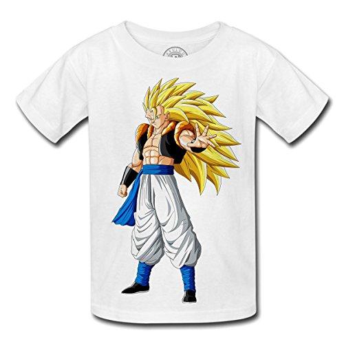 Fabulous T-Shirt Enfant Dragon Ball Z Anime Manga Japan Fusion gogeta