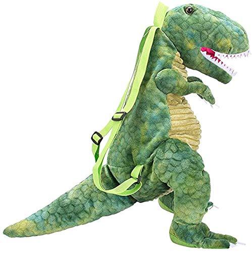 Home Style Collection - Mochila de peluche con dinosaurio, 40 cm, ideal para niños y niñas