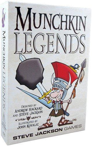 Steve Jackson Games - Munchkin: Legends - Gioco da tavolo