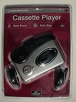 Durabrand Personal Portable Cassette Player - Model 822