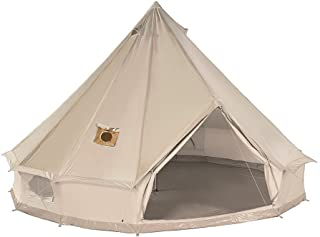 DANCHEL Cotton Bell Tent with Two Stove Jacket (Top and Wall)