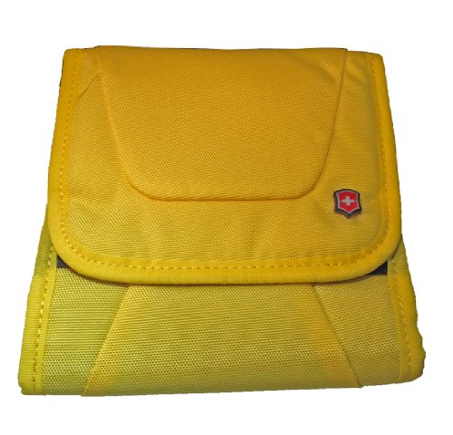 Victorinox World Cup Inspired Travel Wallet 2 Way Carry Travel Pouch - Yellow