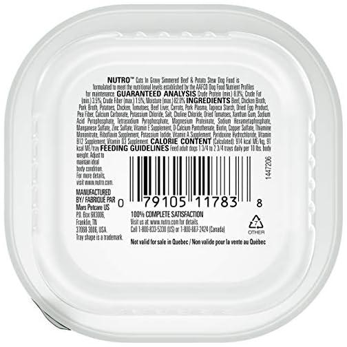 Nutro Cuts in Gravy Grain Free Wet Dog Food Adult & Puppy, 3.5 oz Trays 4