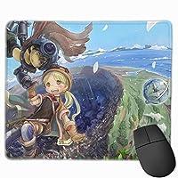 メイドインアビス (1) 売れ行きがよい マウスパッド 大きいサイズ ゲーム ゲーミングマウスパッド 大型 ゲーミング 人気 防水 滑り止め コンピューター キーボードパッド