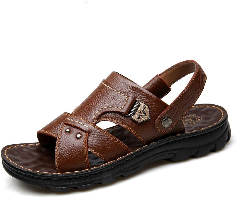 DOSNVG Mens Sandals Open Toe Flat Beach shoes Summer Outdoor Sandals Slipper shoes Hiking Trekking Walking Sandals Size 7-12