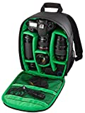 Riva Kamera Reise Rucksack Case Schutz Tasche Bag für SLR, Objektive und Zubehör in Schwarz für Sigma SD10