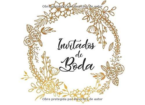 Inivitados de Boda: Libro de firmas para Boda mensajes y autografos de...