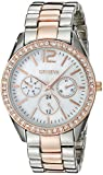 Geneva Women's FMDJM115 Analog Display Quartz Two Tone Watch