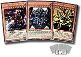 Yugioh All 3 Egyptian God Cards