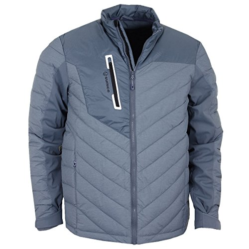Best Buy! Sunice Franz 3M Thermal Featherless Insulated Stretch Jacket Previous Season - Blue/Midnig...