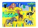 Andreu Toys 16484 - Puzzle de 7 Piezas, Multicolor, 30 x 22,5 x 2 cm