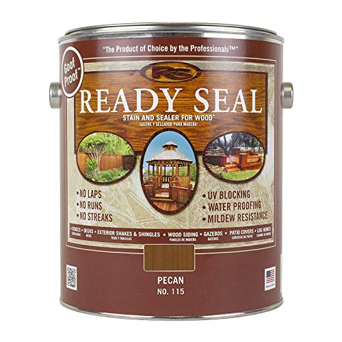 Ready Seal Exterior Stain and Sealer-1 Gallon can (Pecan 115)