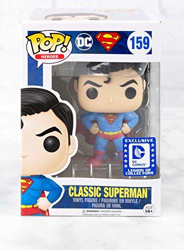 Funko Pop! Heroes Classic Superman Legion of Collectors Exclusivo DC Comics Coleccionable (Solo la Copia)