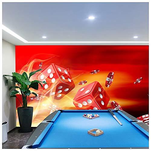 azutura Rote Würfel Fototapete Vegas Casino Tapete Schlafzimmer Büro Wohnkultur Erhältlich in 8 Größen Riesig Digital