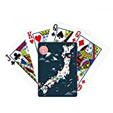 Juego de mesa de juego de cartas mágicas con mapas especiales locales tradicionales japoneses