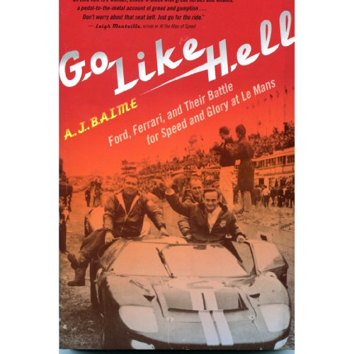 Go Like Hell audiobook cover art