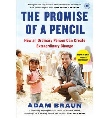 BY Braun, Adam ( Author ) [{ The Promise of a Pencil By Braun, Adam ( Author ) Feb - 03- 2015 ( Paperback ) } ]