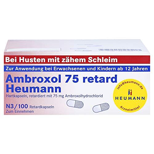 Ambroxol 75 retard Heumann Retardkapseln, 100 St. Kapseln