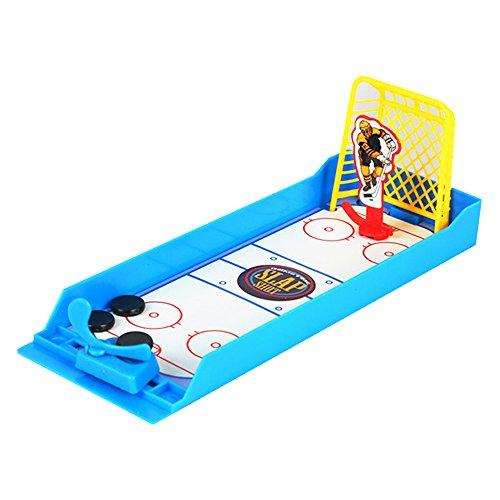 Newin Star Mini Eishockey Spiel, Lustiges Tischspiele Mini Sport Spielzeug Eishockey für Kinder ab 3 Jahren