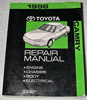 1996 Toyota Camry Factory Repair Manual (SXV10, MCV10 Series, Complete Volume)