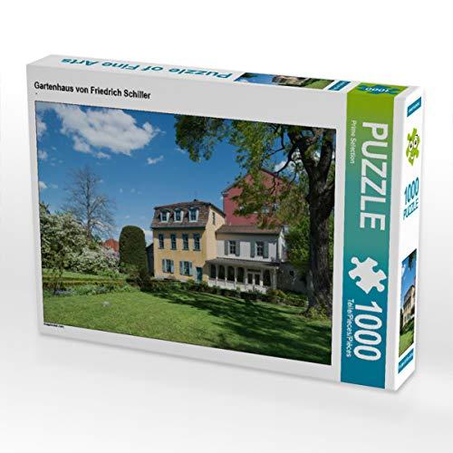 CALVENDO Puzzle Gartenhaus von Friedrich Schiller 1000 Teile Lege-Größe 64 x 48 cm Foto-Puzzle Bild von Prime Selection Kalender