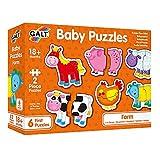 Galt Toys Puzle Infantile-Granja, Multicolor (1003028)