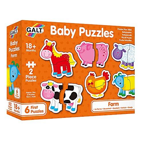 Galt - GA1003028 - Baby Puzzles - Animaux de la Ferme