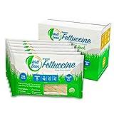USDA Organic WELL LEAN Fettuccine, Premium Shirataki Konjac Pasta, 100% Plant-Based, Keto Friendly, Non GMO, Ready to Eat, Low Calorie, Low Carb, Gluten Free Diet - 6 Pack