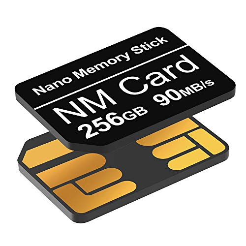 YAOMAISI NM Speicherkarte Karte 256GB 90MB/S Gilt nur für Huawei P30/P30Pro/P40-Serie/Mate20-Serie/Mate30-Serie/Mate40/Mate40pro speicherkarte