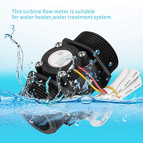 Medidor de flujo de turbina, medidor de flujo de turbina G1.5 pulgadas, medidor de flujo del sistema de tratamiento de agua, 5~150L / min, para control de caudal de líquido