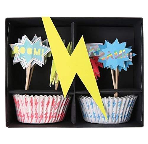 Super Hero Cup Cake Kit