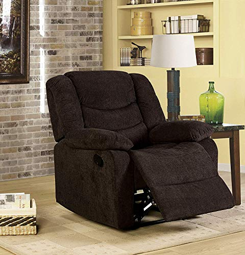 K LIVING D43-BE Dori Upholstered Accent Chair in Beige