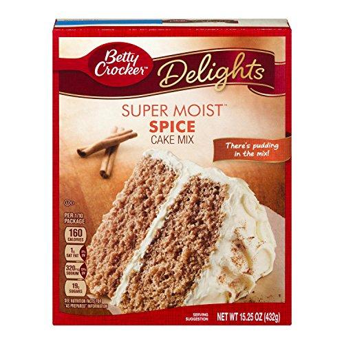 Betty Crocker Super Moist Cake Mix Spice, 15.25 Oz Box