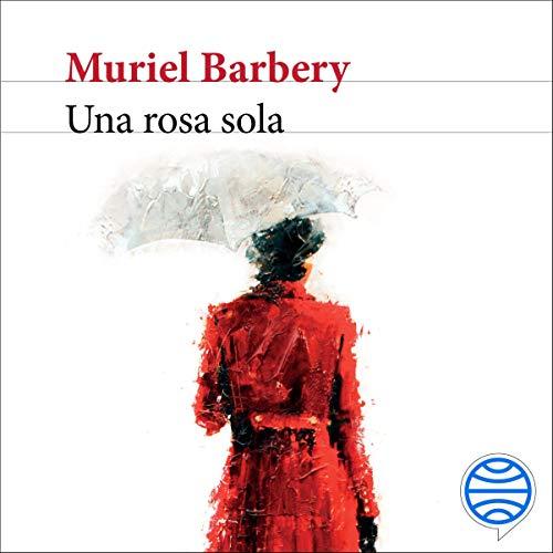 Diseño de la portada del título Una rosa sola