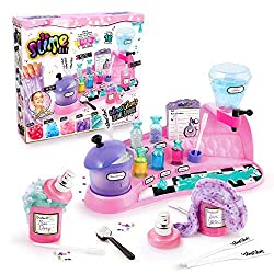 Scented DIY Slime studio instand, no mess, no fail! make your own perfume to add to your DIY Slime Just add water and shake ! Includes decorations for even more funs Make up to 16 perfumed slime