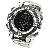 LAD WEATHER Militar Reloj Potente Batería Solar Cronómetro Marca de America y Japón Deportes...