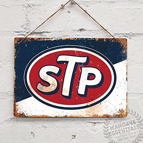 PMSMT STP Retro Vintage Cartel de Chapa Cartel de Metal decoración de Metal Pintura de Metal Etiqueta de la Pared de Metal Signo de Pared decoración de la Pared