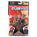 G.I. Joe 25th Anniversary Comic Pack - Scarlett & G.I. Joe Hawk