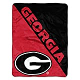 The Northwest Company Georgia Bulldogs 'Halftone' Micro Raschel Throw Blanket, 46' x 60' , Red