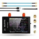 Analizzatore di rete vettoriale NanoVNA V2, 2.8pollice metallo 50KHz -3GHz NanoVNA UHF HF VHF Analizzatore di antenna per la misurazione di parametri S