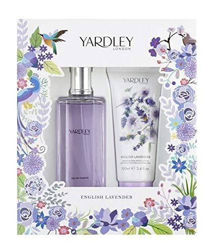 Yardley English Coffret Parfum Femme Lavender 125 ml + Lait Corps 100 ml