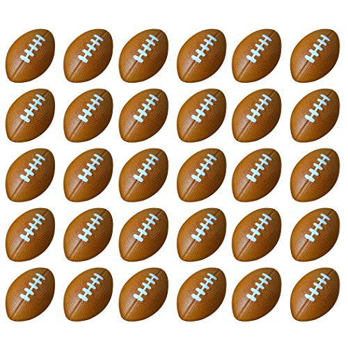 JUSTDOLIFE 30PCS Mini Sports Ball Foam Mini Toy Ball Stress Sports Ball Stress Relief Ball