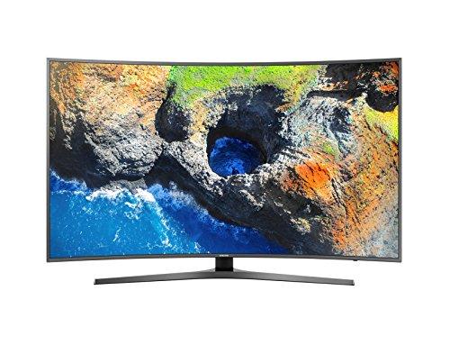 Samsung Serie 6 MU6645 - Smart TV de 55' (3840 x 2160, 4K UHD, HDR, Active Crystal Color, Wi-Fi, diseño Curvo), Color Negro