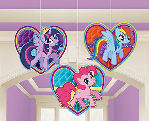 Amscan International 295513 My Little Pony Honeycomb Decoratiekit