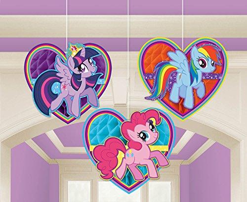 Amscan International 295513 My Little Pony Honeycomb Decoratiekit