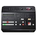 Blackmagic Design ATEM Television Studio Pro 4K Interruptor de Video BNC - Switch de vídeo (BNC, Mini USB Type-B, Negro, 60 pps, 720p,1080i,1080p,2160p, 110-240 V)