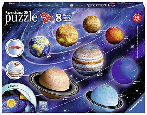 Ravensburger- Puzzle 3D Système Solaire Enfant,...