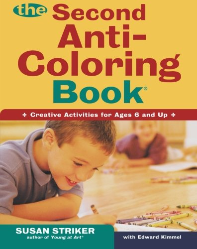 The Second Anti-Coloring Book (Anti-Coloring Books)